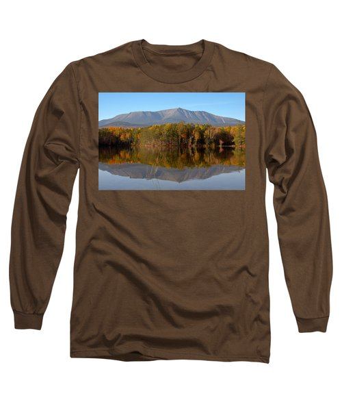Mt Katahdin Baxter State Park Fall 1 Long Sleeve T-Shirt