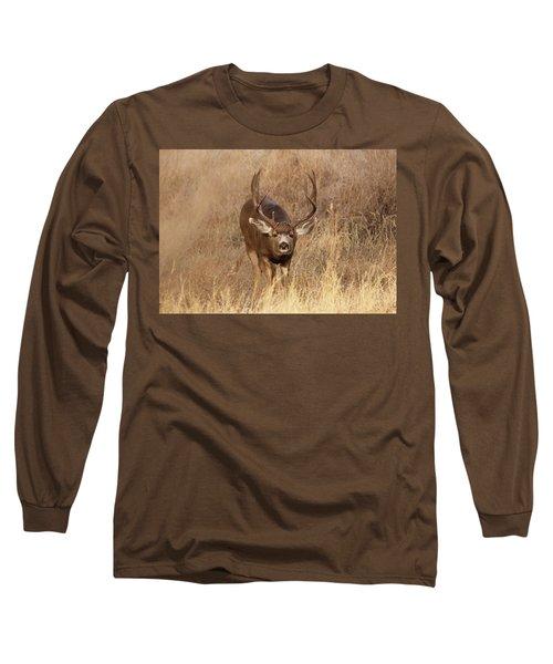Muledeerbuck1 Long Sleeve T-Shirt