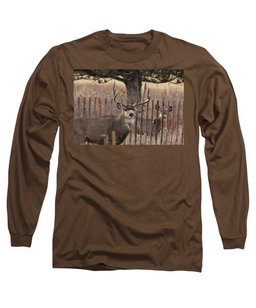 Muledeerbuck8 Long Sleeve T-Shirt
