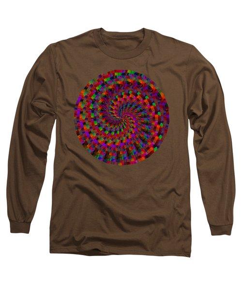 Multicolored Twist Long Sleeve T-Shirt