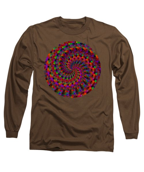 Multicolored Twist Long Sleeve T-Shirt