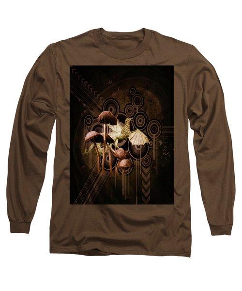 Mushroom Dragon Long Sleeve T-Shirt