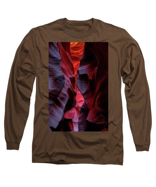 Music, Frozen In The Rocks 5 Long Sleeve T-Shirt by Alex Galkin