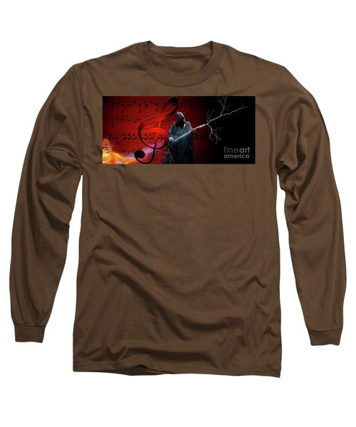 Music To Die For Long Sleeve T-Shirt