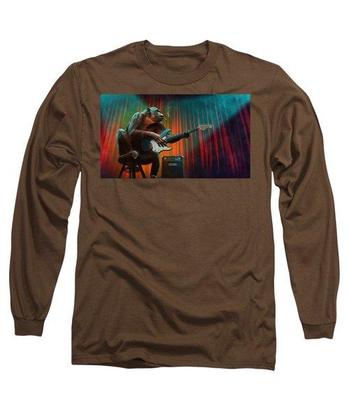 Music_animal Long Sleeve T-Shirt