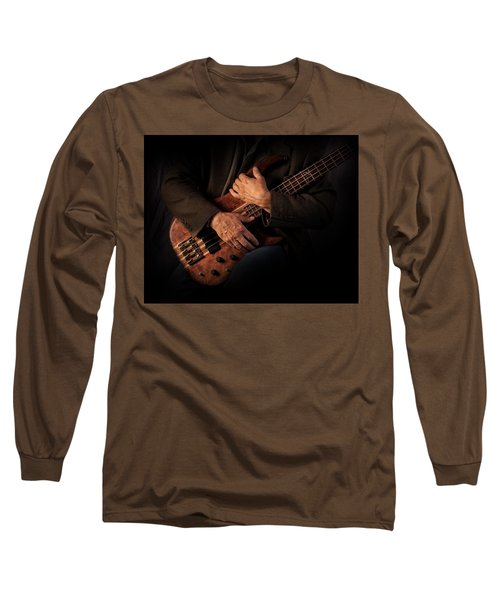 Musician's Hands Long Sleeve T-Shirt by David and Carol Kelly
