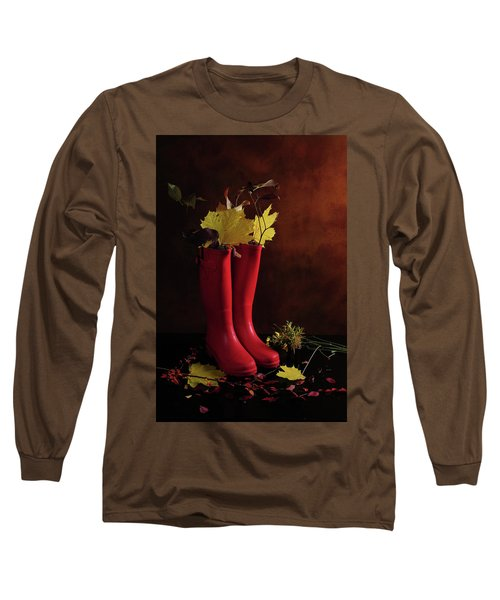 My Boots Are Cool Long Sleeve T-Shirt