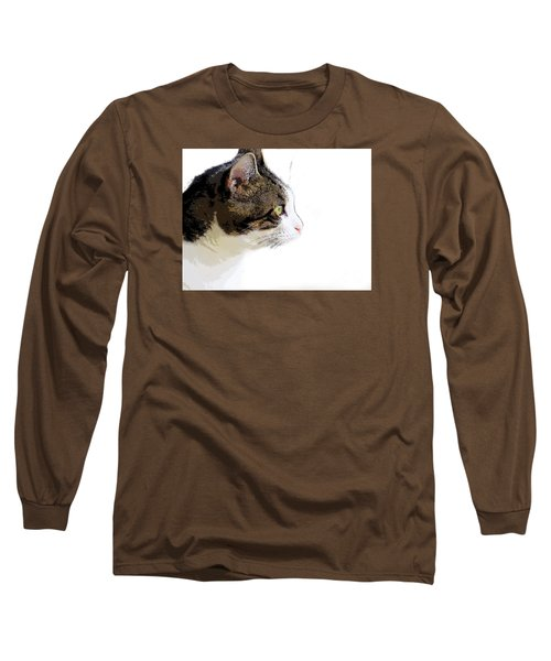 My Cat Long Sleeve T-Shirt by Craig Walters