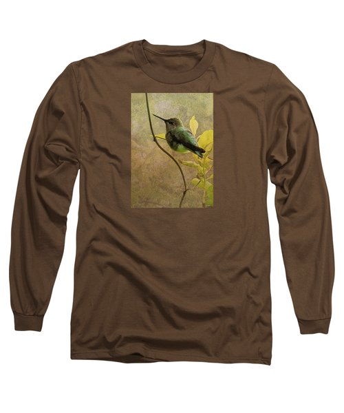 My Greeting For This Day Long Sleeve T-Shirt by I'ina Van Lawick
