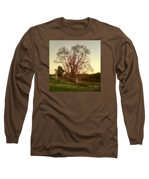 Long Sleeve T-Shirt featuring the photograph My Tree Has A Soul  by Delona Seserman
