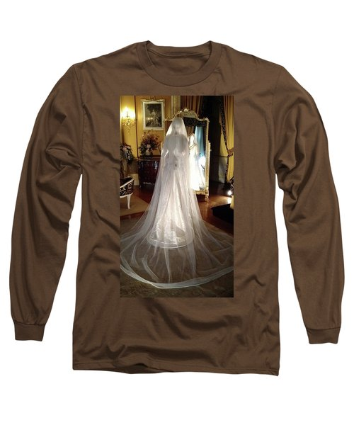 Long Sleeve T-Shirt featuring the photograph My Wedding Gown by Gary Smith