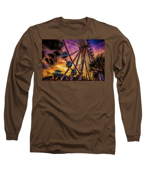 Myrtle Beach Skywheel Long Sleeve T-Shirt
