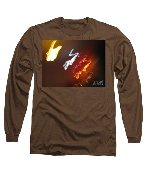 Long Sleeve T-Shirt featuring the photograph Mysterious Signature by Ausra Huntington nee Paulauskaite