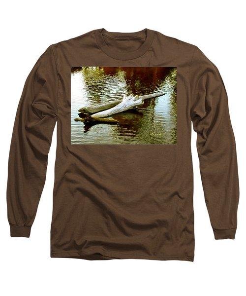 Nailbiting Driftwood Long Sleeve T-Shirt