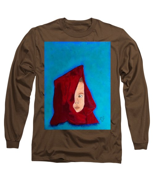 Long Sleeve T-Shirt featuring the painting Nameless by Rod Jellison