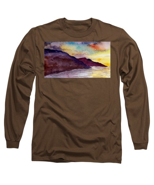 Napali Coast Kauai Hawaii Long Sleeve T-Shirt