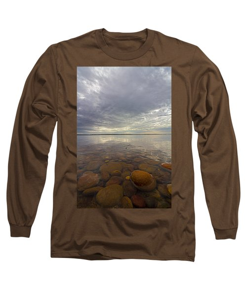 Napeague Bay Red Rocks Long Sleeve T-Shirt