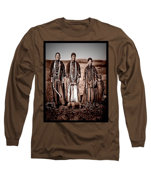 Native Pride Long Sleeve T-Shirt by Mark Allen