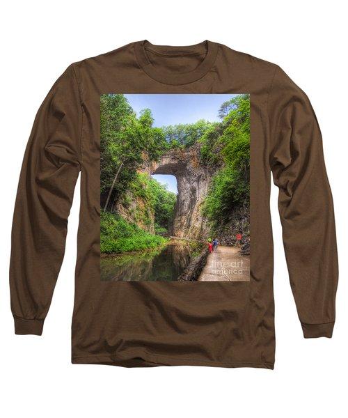 Natural Bridge - Virginia Landmark Long Sleeve T-Shirt