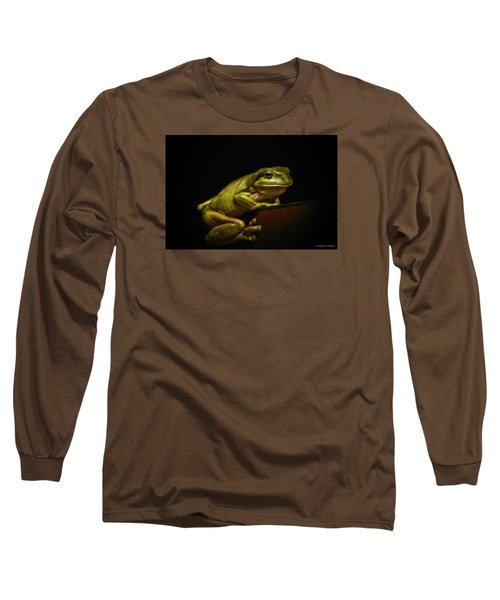 Natures Green 01 Long Sleeve T-Shirt by Kevin Chippindall