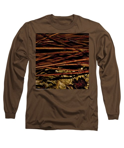 Nature's Lattice Long Sleeve T-Shirt by Gina O'Brien
