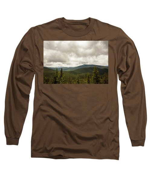 Near Monarch Pass At The Continental Divide Long Sleeve T-Shirt