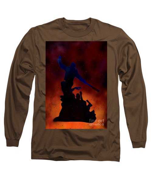 Negan Inferno Long Sleeve T-Shirt by Justin Moore