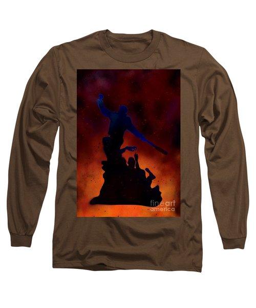 Negan Inferno Long Sleeve T-Shirt