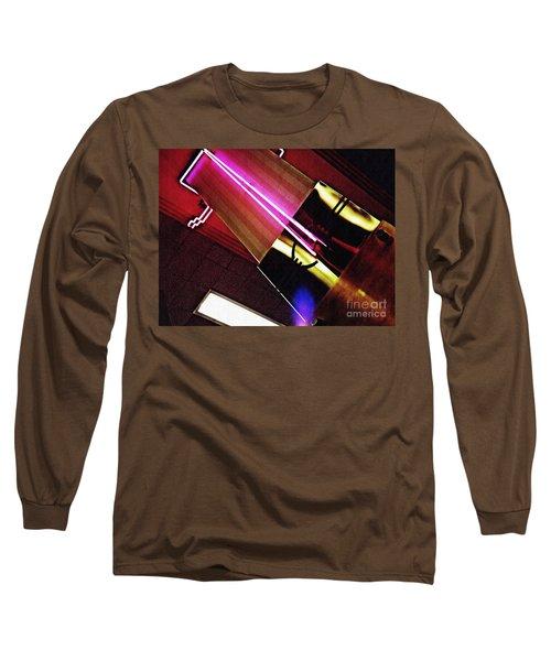 Neon Design Long Sleeve T-Shirt