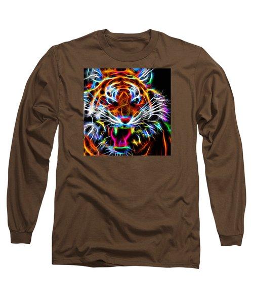 Neon Tiger Long Sleeve T-Shirt