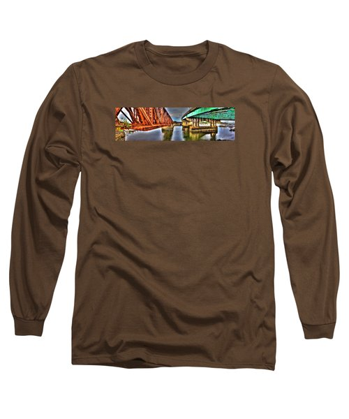 New And Old Bridge Long Sleeve T-Shirt