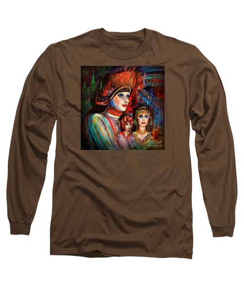 New Orleans Live Mannequins Long Sleeve T-Shirt by Walt Foegelle