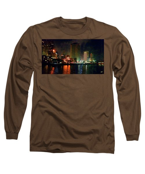New Orleans Waterfront Long Sleeve T-Shirt