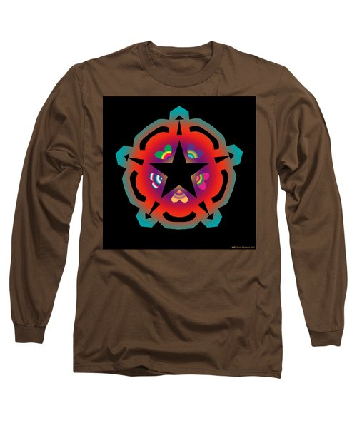 New Star 6 Long Sleeve T-Shirt by Eric Edelman