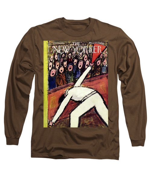 New Yorker October 14 1950 Long Sleeve T-Shirt
