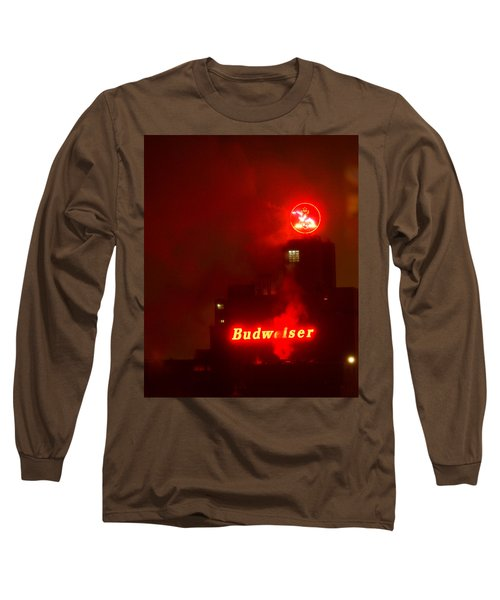 Newark Budweiser Long Sleeve T-Shirt