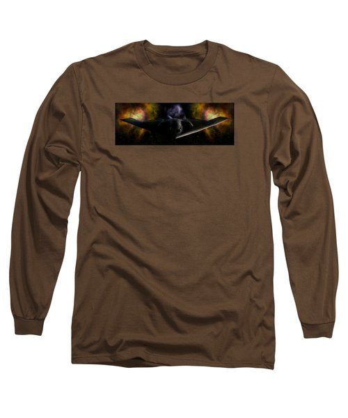 Long Sleeve T-Shirt featuring the photograph Nigfhtstalker by Mario Carini