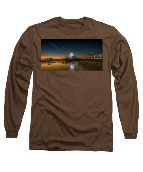 Night At The Pier Long Sleeve T-Shirt