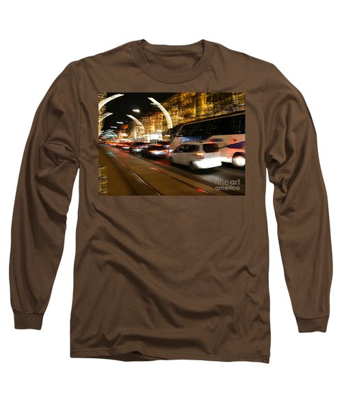 Night In Vienna City Long Sleeve T-Shirt