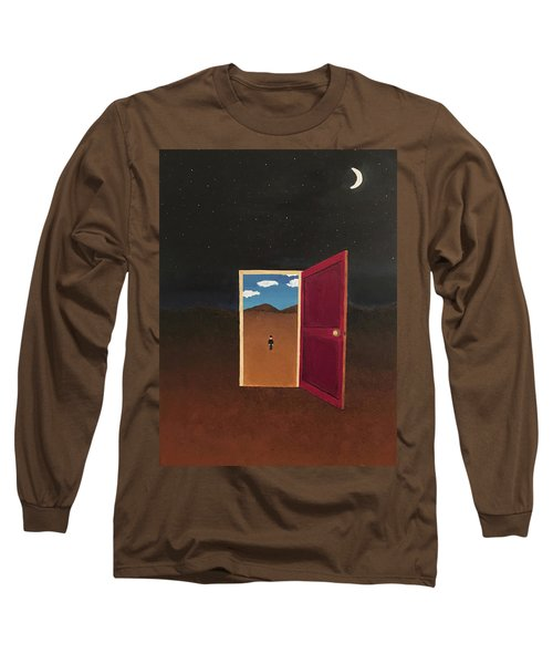 Night Into Day Long Sleeve T-Shirt by Thomas Blood
