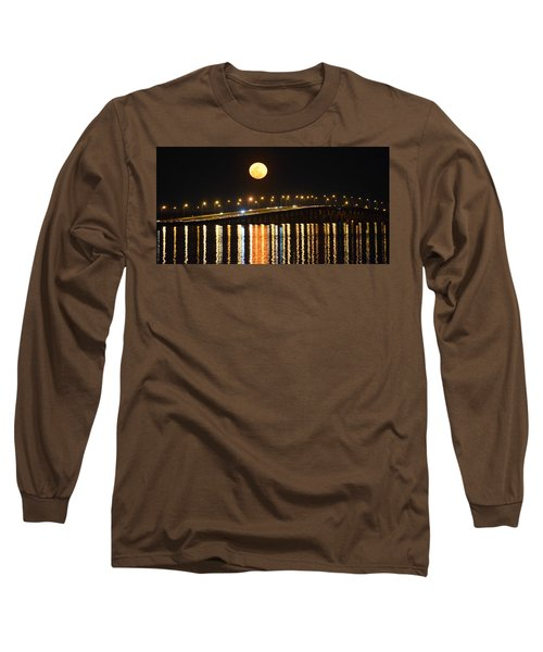 Night Of Lights Long Sleeve T-Shirt by Gary Smith