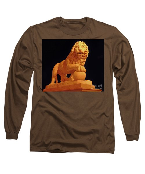 Night Of The Lion Long Sleeve T-Shirt