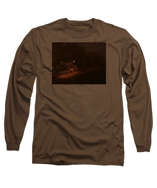 Night On The River Long Sleeve T-Shirt