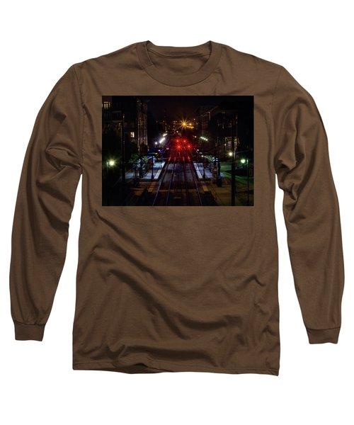 Night Tracks Long Sleeve T-Shirt