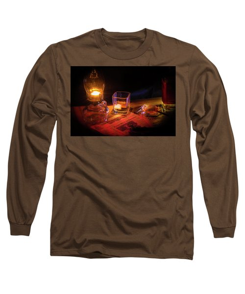 Night Work Long Sleeve T-Shirt by Mark Dunton