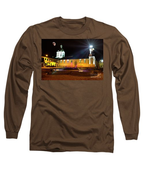 Nighttime At San Sebastian Long Sleeve T-Shirt
