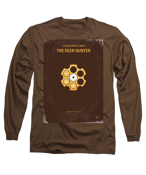 No019 My Deerhunter Minimal Movie Poster Long Sleeve T-Shirt