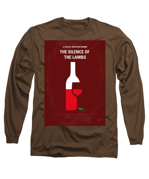 No078 My Silence Of The Lamb Minimal Movie Poster Long Sleeve T-Shirt