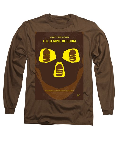 No517 My The Temple Of Doom Minimal Movie Poster Long Sleeve T-Shirt