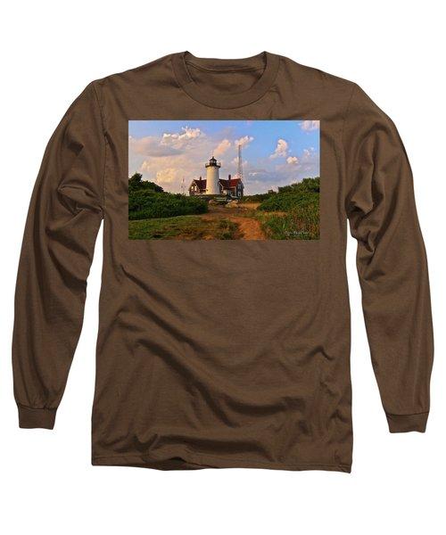 Nobska Lighthouse Long Sleeve T-Shirt